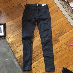 Rag & Bone light black stretch jeans